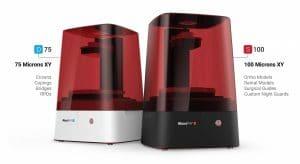 moonray dlp 3d printer uv resin
