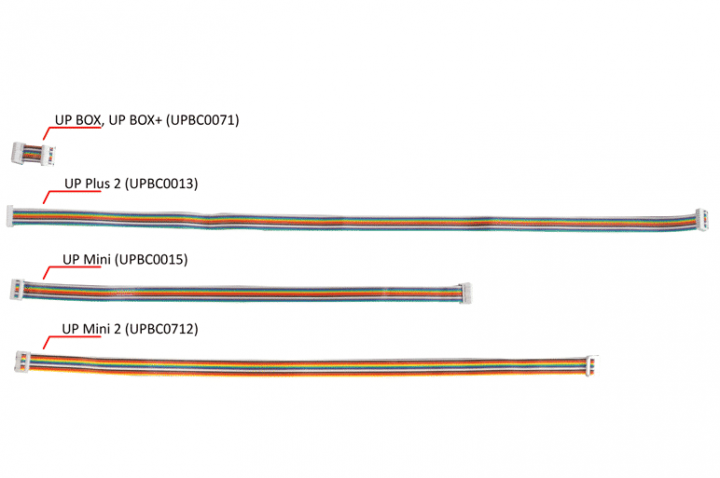 Extruder Head Rainbow Cable (All printers)